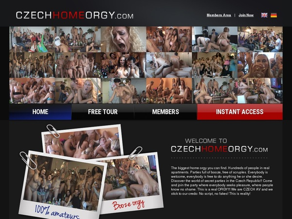 Czech Home Orgy Discount Coupon