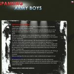 Spanking Army Boys Discount Deal