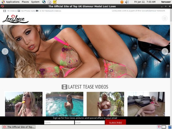 Free Lexi Lowe User And Pass