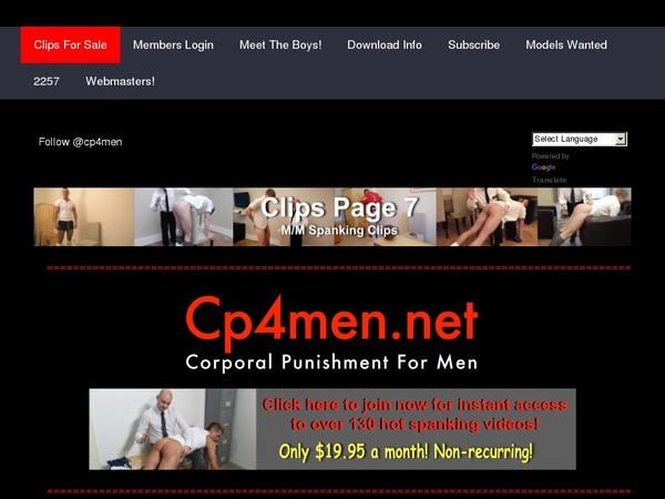 Cp4men.net Special Price