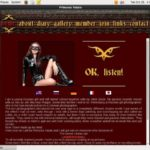 Princess Fatale Signup Page