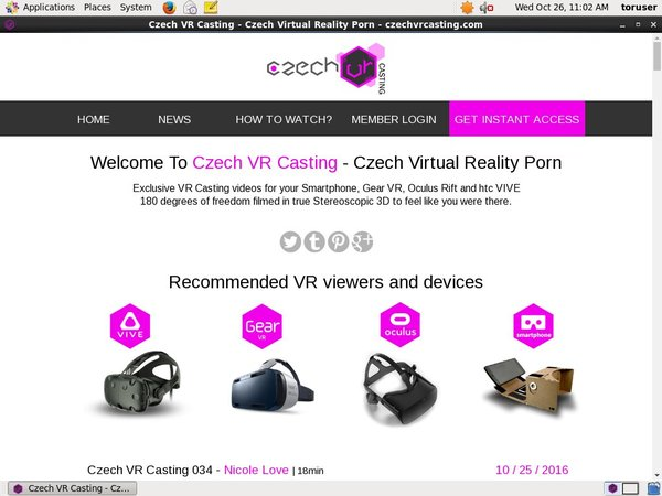 Czech VR Casting Videos For Free