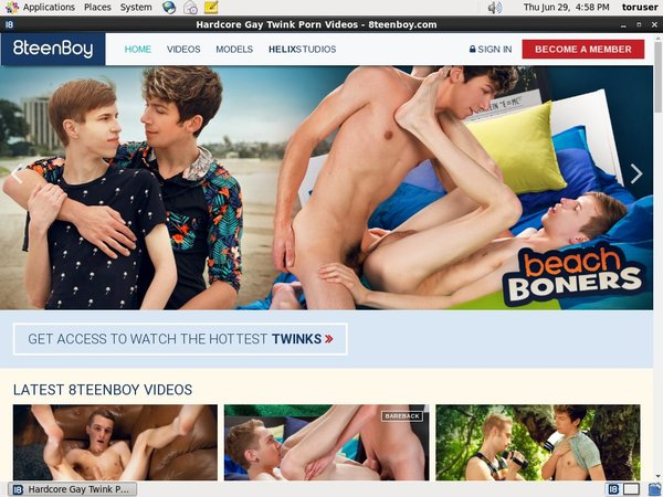 8 Teen Boy One Time Discount