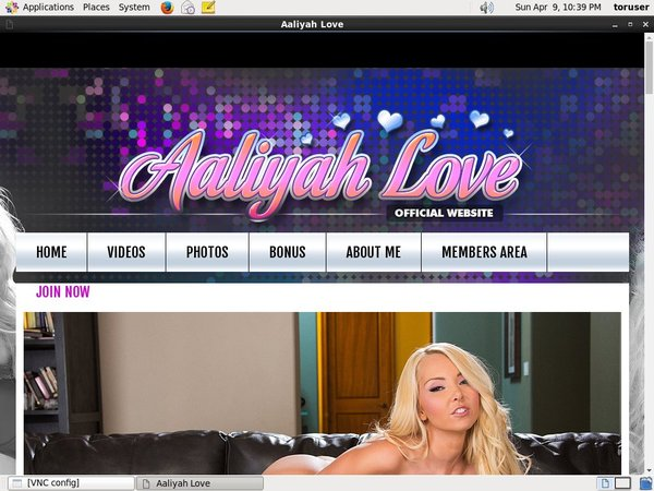 Discount Aaliyah Love Offer